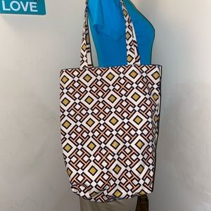 David Hicks x Tory Burch Tote Bag Purse